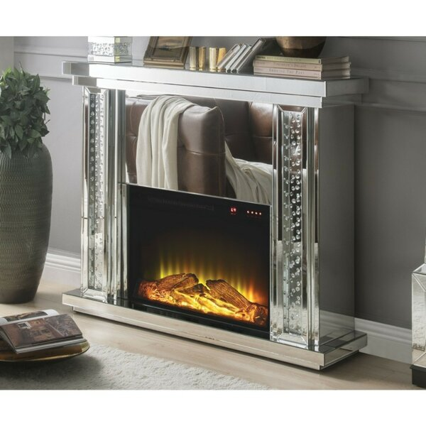 Fantastic Mirrored Fireplace Wayfair Interior Design Ideas Gentotryabchikinfo