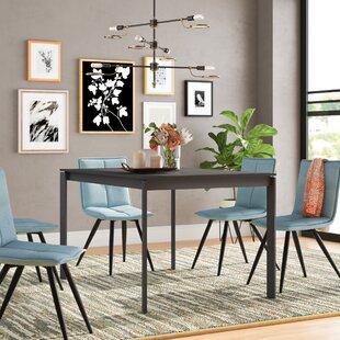 Layton Metal Legs Extendable Dining Table