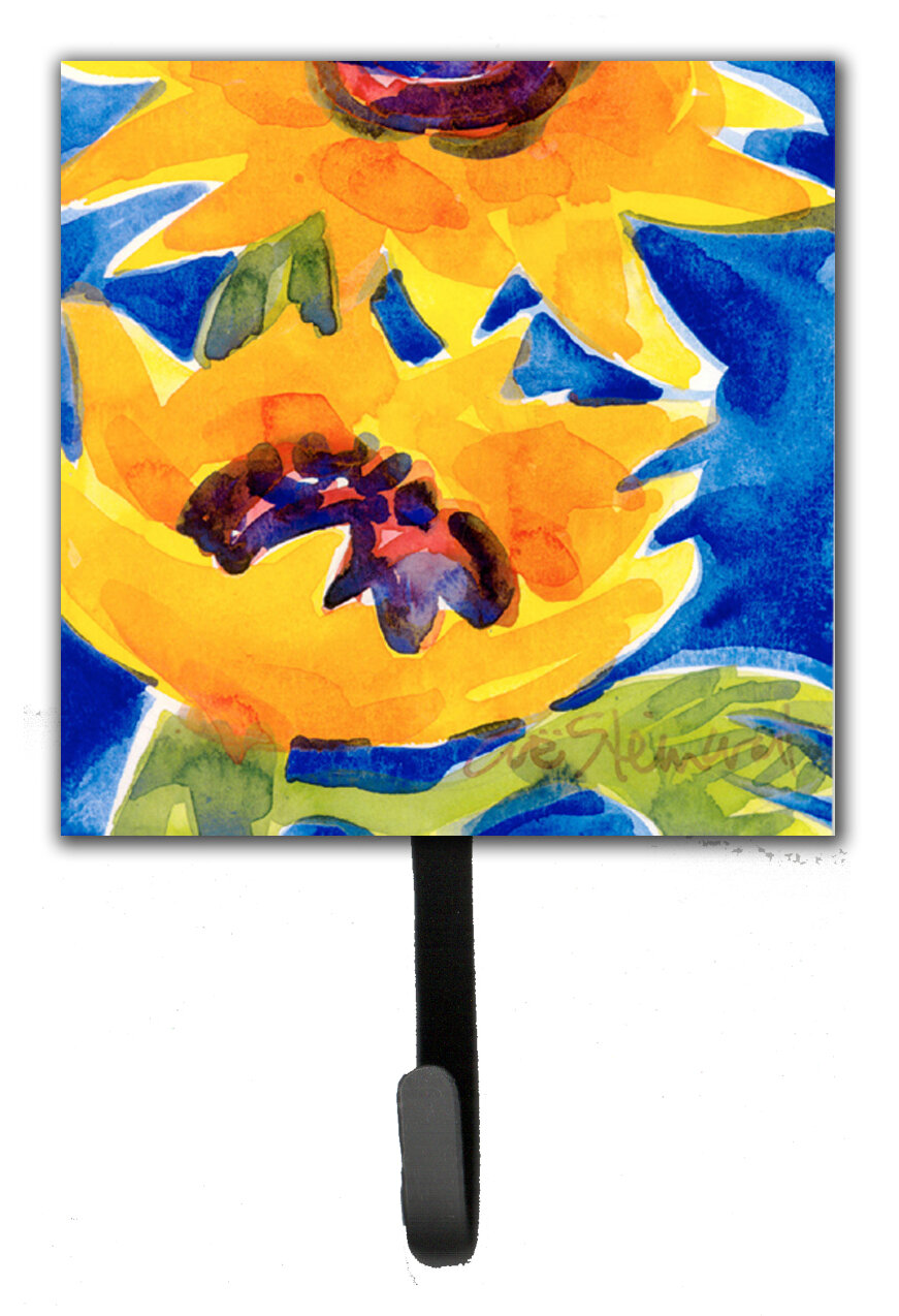 Caroline\'s Treasures Sunflower Wall Hook | Wayfair