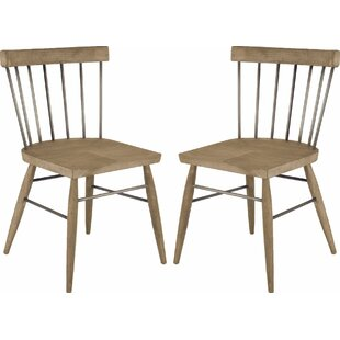Aveza Solid Wood Dining Chair (Set Of 2) #2