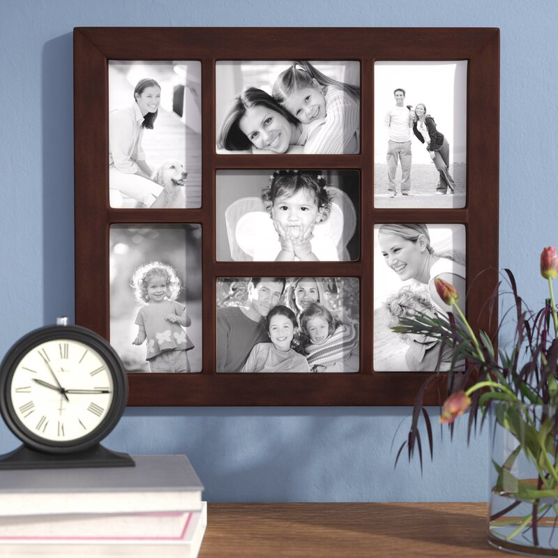 7 Opening Collage Hanging Picture Frame Amp Reviews Birch Lane