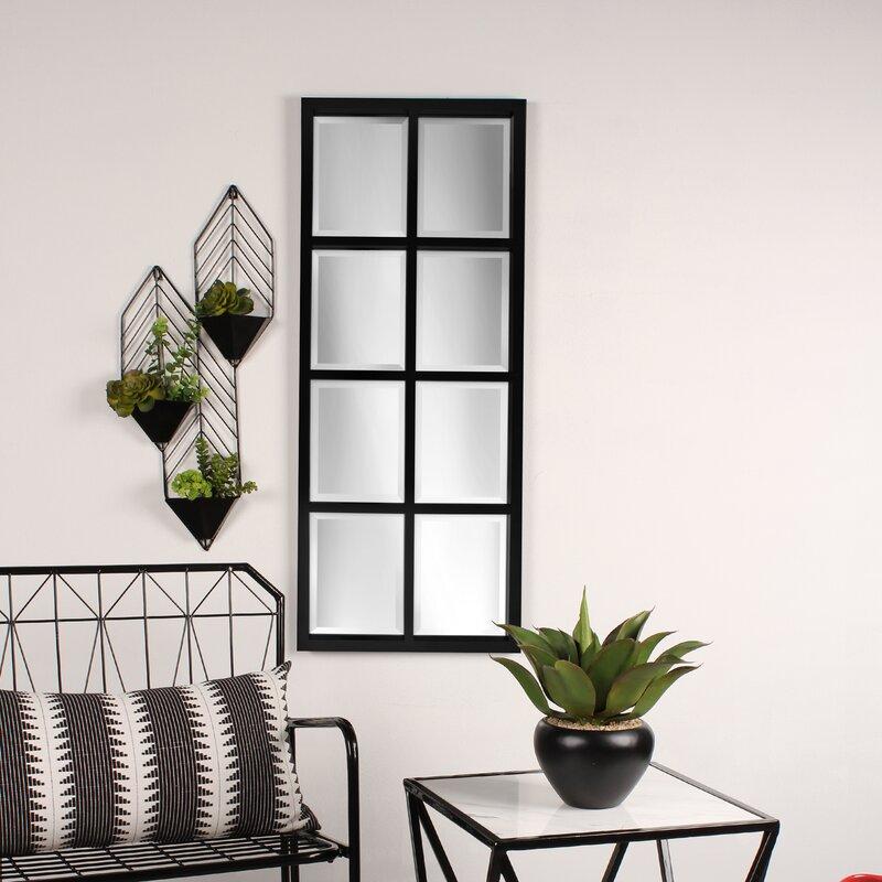 Rustic Window Frame Mirror | Wayfair