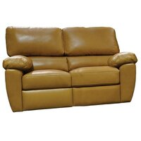 Omnia Leather Vercelli Reclining 3 Piece Leather Living