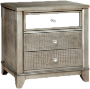 mirrored furniture. Mirrored Nightstands Furniture