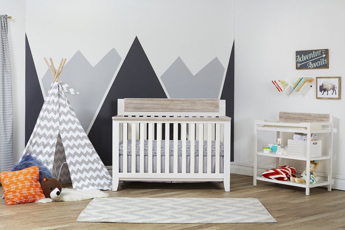 Hayes Lifetime 4-in-1 Convertible Crib