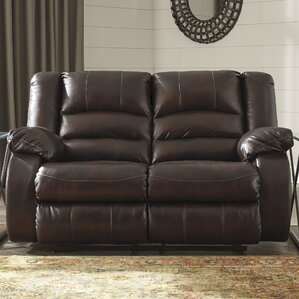 Lunceford Reclining Loveseat by Alcott..