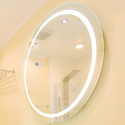 Paris Mirror Rectangle Backlit Bathroom / Vanity Wall Mirror ...