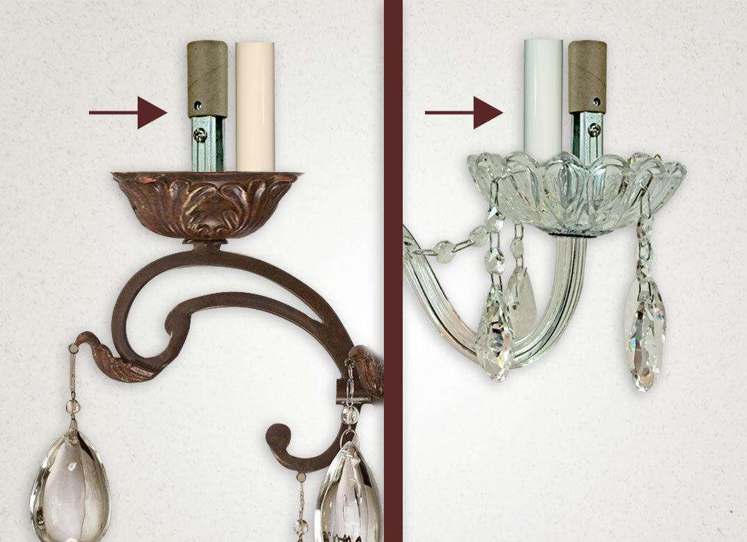 Royaldesigns chandelier socket kit reviews wayfair chandelier socket kit arubaitofo Images