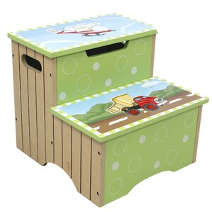 Transportation Step Stool with Storage by Fantasy Fields