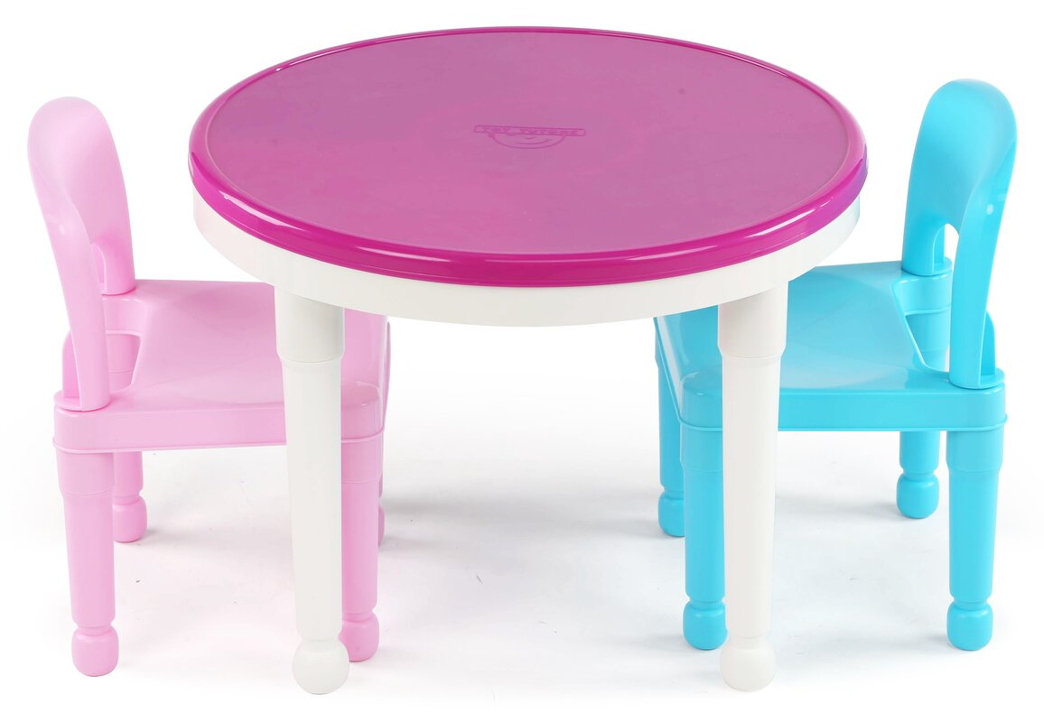 Round Kids Table & Chair Sets You ll Love