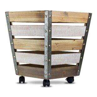 Superieur Wooden Metal Storage Solid Wood Crate