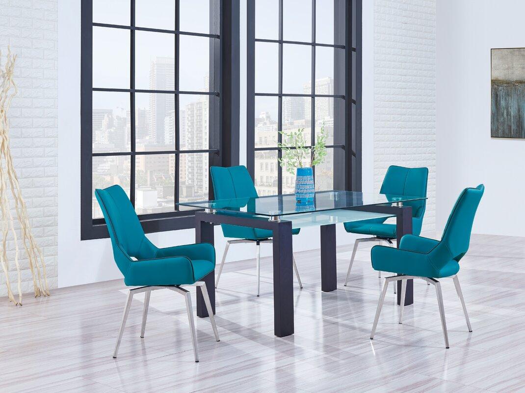 Wade Logan Candelario Dining Table & Reviews | Wayfair
