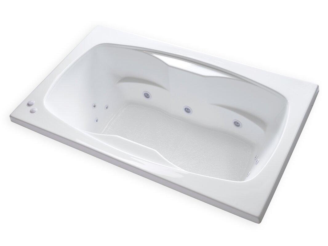Carver Tubs Hygienic Aqua Massage 72\