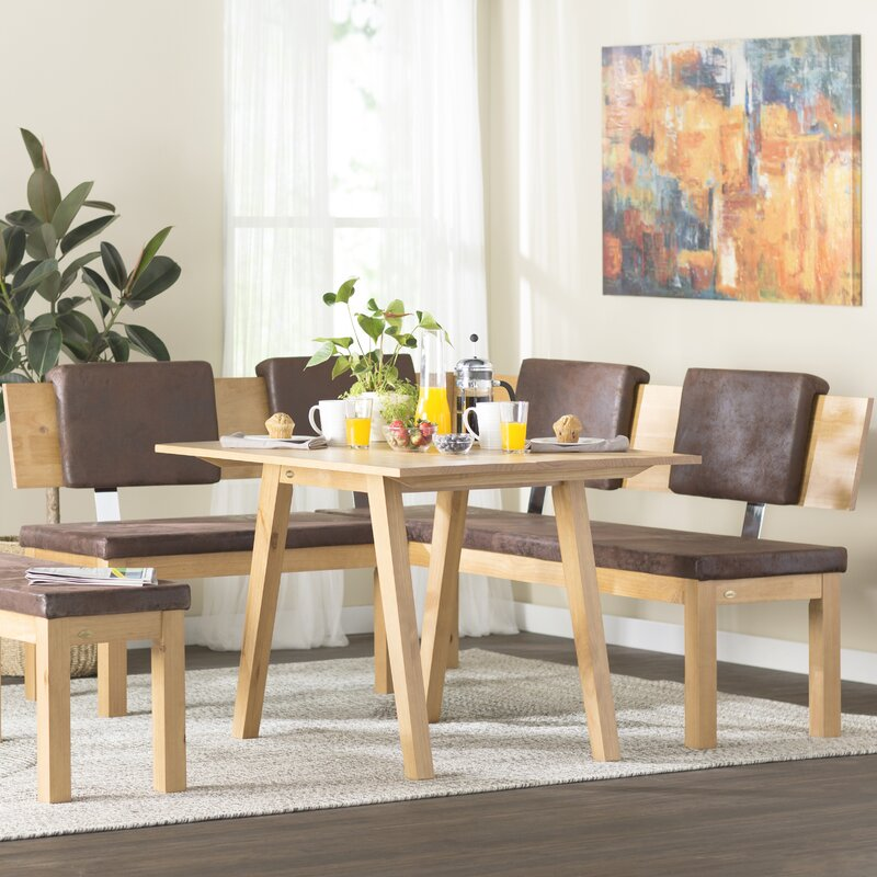 Superieur Desouza 3 Piece Breakfast Nook Dining Set