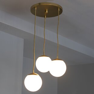 Eveleth 3 Light Globe Pendant
