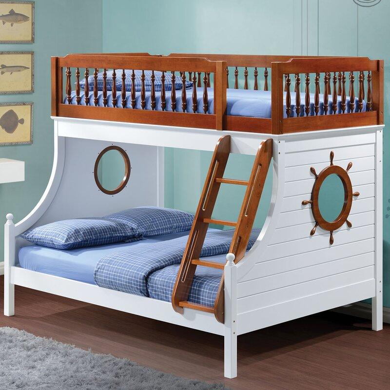 Harriet Bee Greggory Twin Slat Bunk Bed Amp Reviews Wayfair Ca