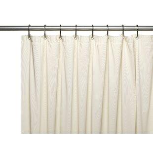 Modern Ivory Cream Shower Curtains