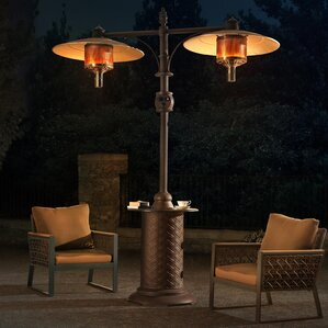 Forge Dual Head LP 34,000 BTU Propane Patio Heater