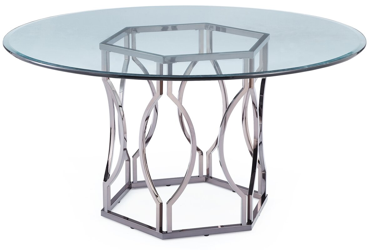 Affric Glass Dining Table