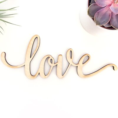 10 Piece Mantra Love Is All You Need Wall Décor Set & Reviews ...