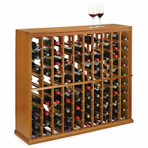 N'finity 100 Bottle Floor Wine Rack by Wine Enthusiast