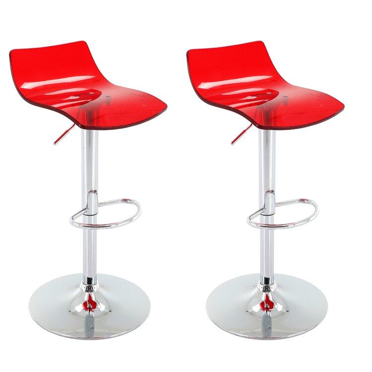 Wondrous Orren Ellis Bigby Adjustable Height Swivel Bar Stool Wayfair Theyellowbook Wood Chair Design Ideas Theyellowbookinfo