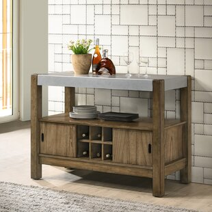 Costabella Solid Wood Server. By Roundhill Furniture