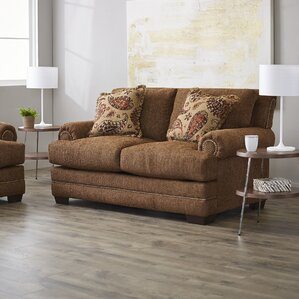 Serta Upholstery Allen Loveseat by Three Posts
