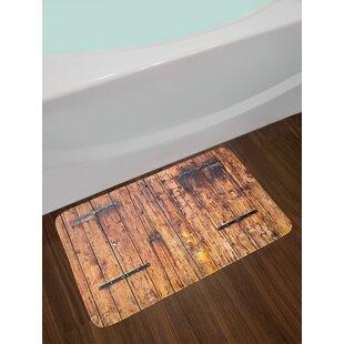 Attirant Antique Rustic Bath Rug
