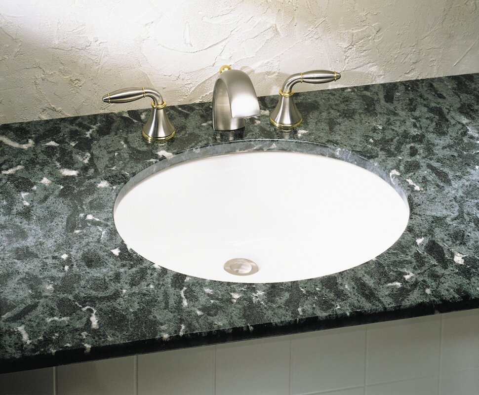 American Standard Ovalyn Oval Undermount Bathroom Sink