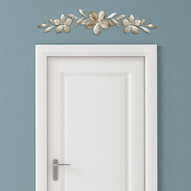 Bay Isle Home Flower Over the Door Wall Décor & Reviews | Wayfair