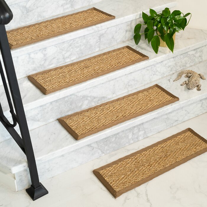 Soperton Seagrass Carpet Stair Tread