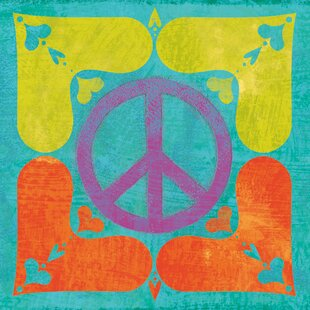 Peace Sign Wall Art Wayfair