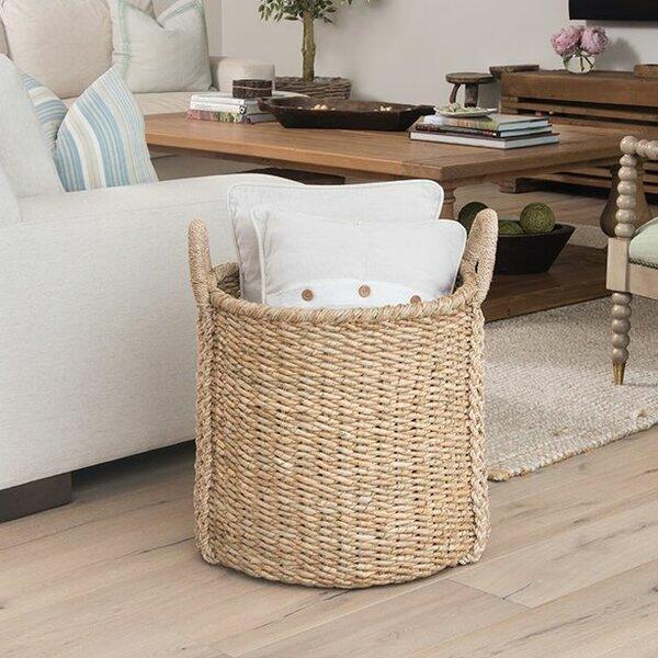 Kouboo Oversized Round Sea Grass Storage Basket U0026 Reviews | Wayfair