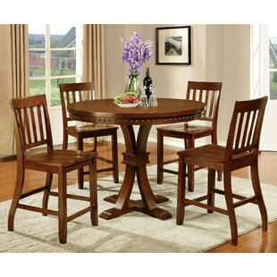 Florencio 5 Piece Pub Table Set