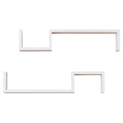 Brayden Studio Wall Shelf Finish: White