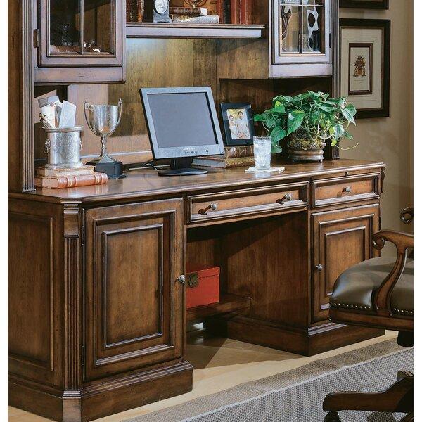 Hooker Furniture Brookhaven Armoire Desk Reviews: Hooker Furniture Brookhaven Credenza Desk & Reviews