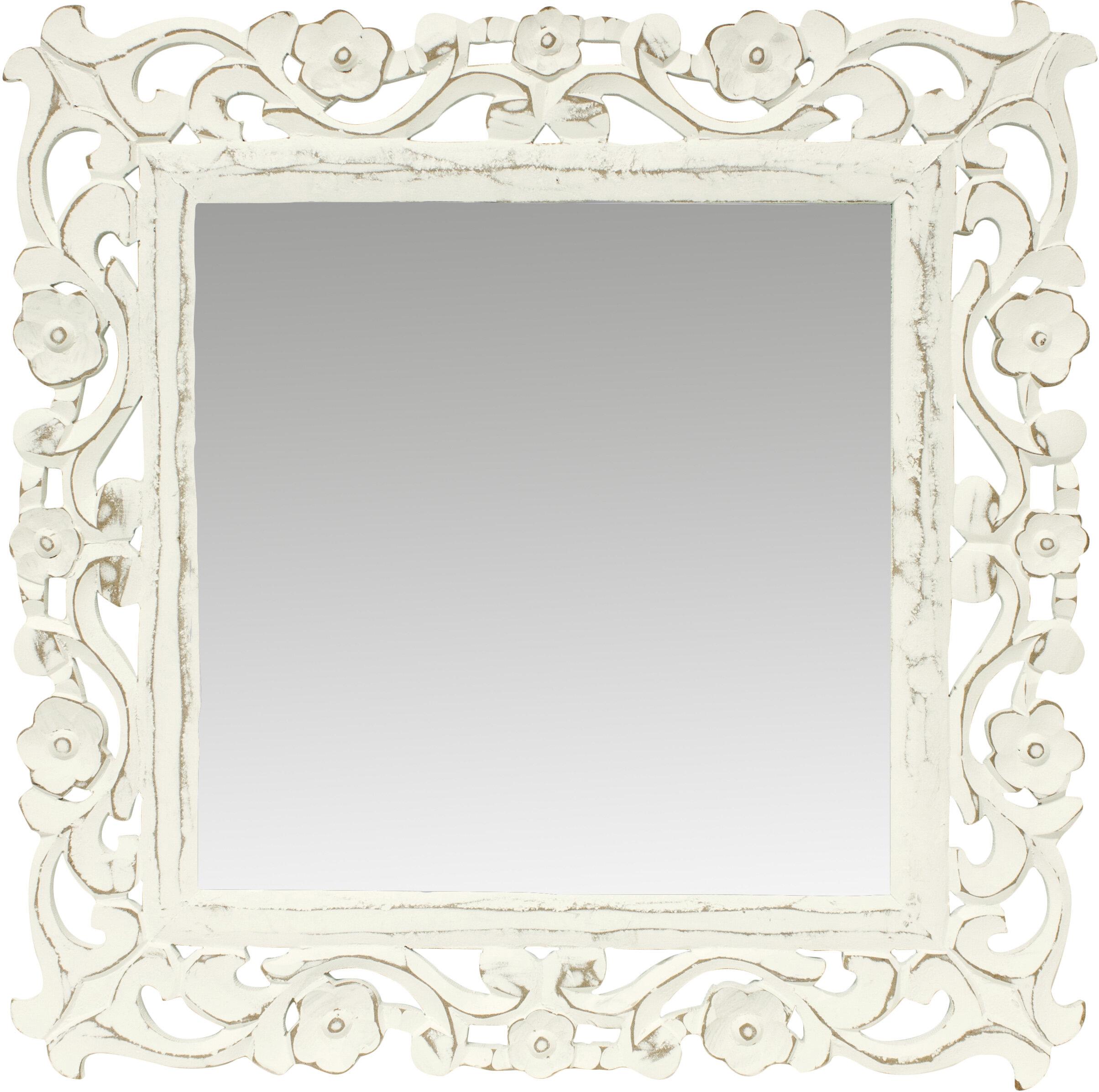 Fetco home decor wayfair heppner mirror jeuxipadfo Image collections