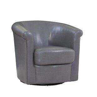 dark grey swivel chair wayfair