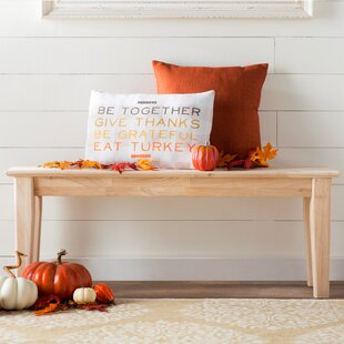 Lynn Wooden Entryway Bench