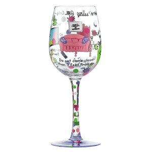 Mummy's Time Out All Purpose Wine Glass