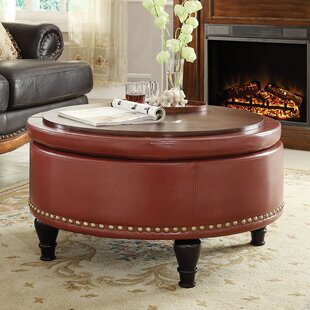 Red Ottomans U0026 Poufs