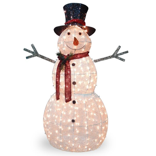 snowman decorations youll love wayfair - Olaf Outdoor Christmas Decoration