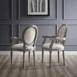 Natalia Vintage French Upholstered Dining Chair (Set of 2)