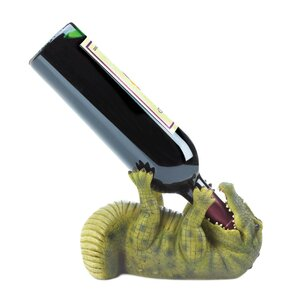 Alligator 1 Bottle Tabletop Wine Rack by ..