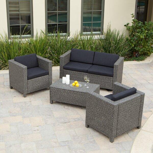 Home Loft Concepts Puerta 4 Piece Sofa Set Wayfair