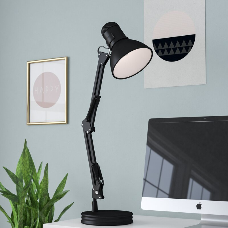 Rivka swing arm 35 desk lamp