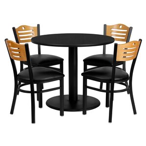 Santosh 5 Piece Dining Set by Red Barrel Studio