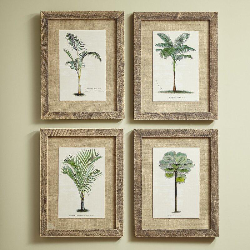 Birch Lane™ Palm Tree Framed Prints & Reviews | Birch Lane