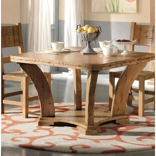 Jacobs Extendable Solid Wood Dining Table